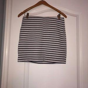 Striped BCBG Skirt